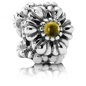 Pandora November Birthstone Charm